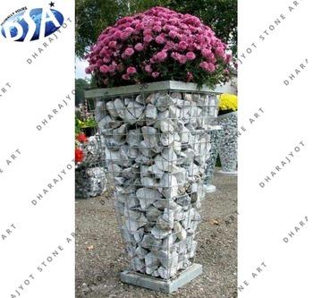 219 & White Pebble Square Design Polished Flower Pot - Buy Small Decorative Flower PotsFlower Pots For LivingroomSmall Ceramic Flower Pots Product on ...