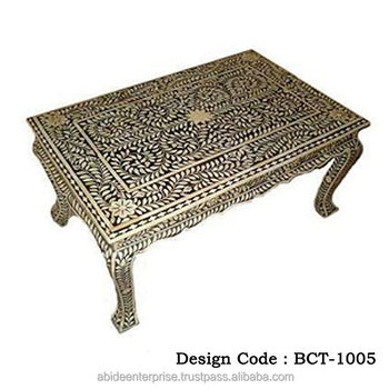 Bone Inlay Coffee Tables