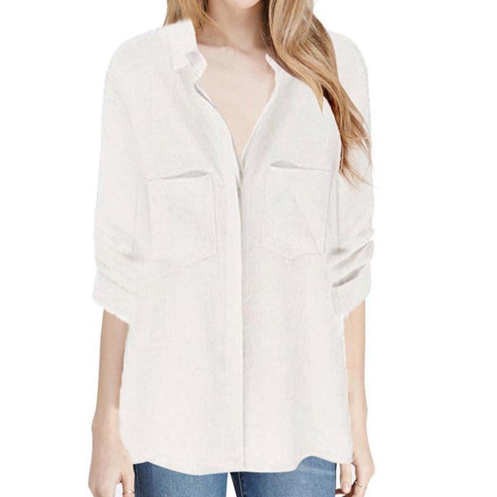 516754aa325 Cheap Womens White Button Down Shirt