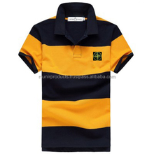 High quality Cotton men short sleeve polo golf shirt OEM polo t shirt