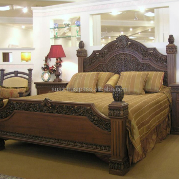 Royal Bed Sets,American Style Wooden Large Bed Sets,Huge Wooden Bed  Sets,Customize Bed Sets,California King Size Bed Set - Buy Pink Leather  Headboard ...