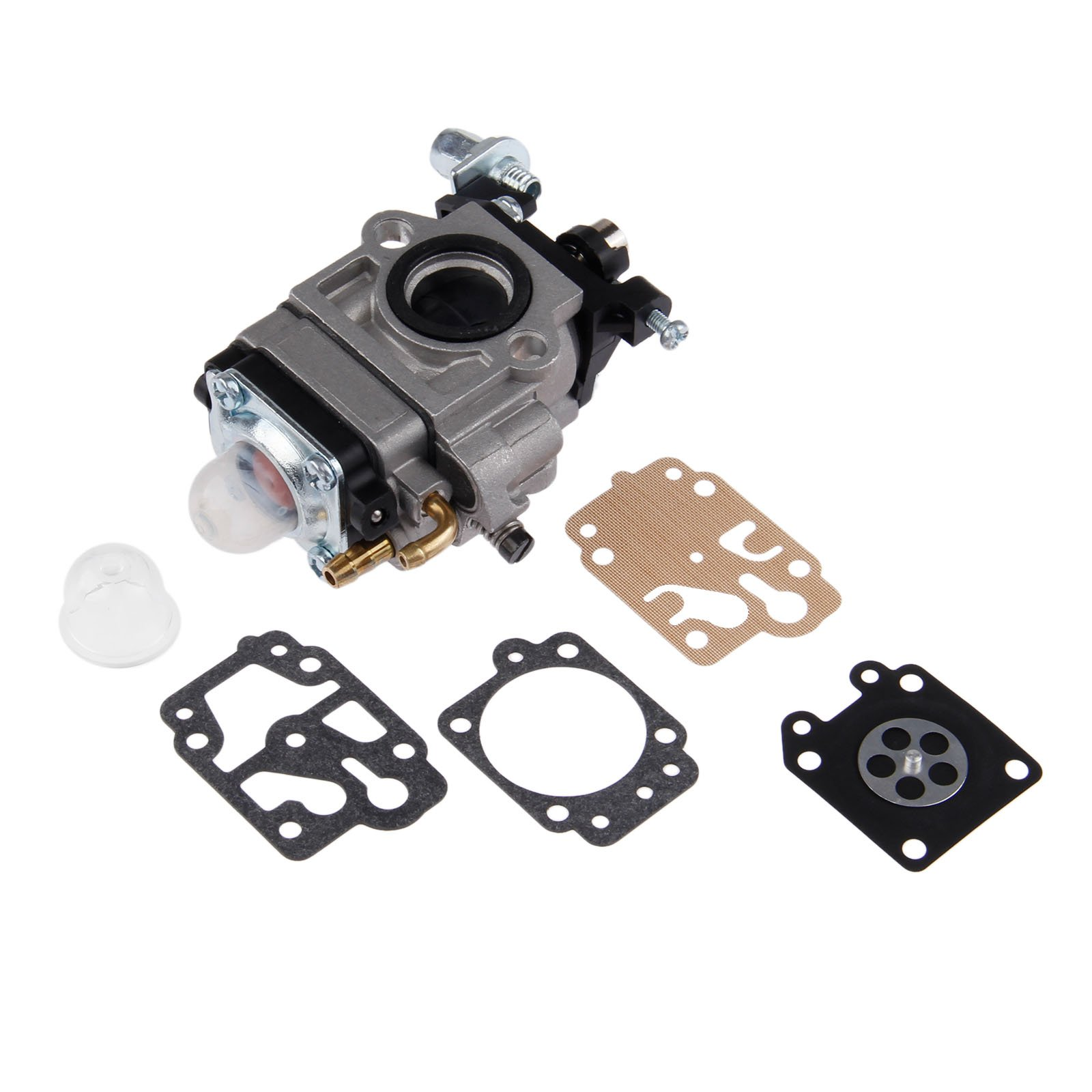 For MP15 43CC 52CC CG430 CG520 BC430 BC520 Chinese Brush Cutter Grass Trimmer Carburetor with Repair Kits