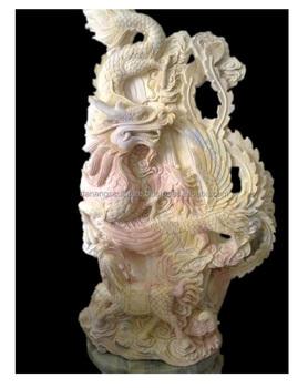 Dragon Garden Stone Relief Dsf V01