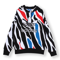 Adidas Zebra Hoody Sweat Cool Hoodie Aop Ao2890 For Men