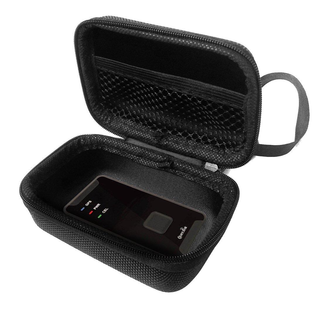 FitSand TM Zipper Travel Carry EVA Hard Case for VERSION GL300 W Mini Portable Real Time GPS Tracker