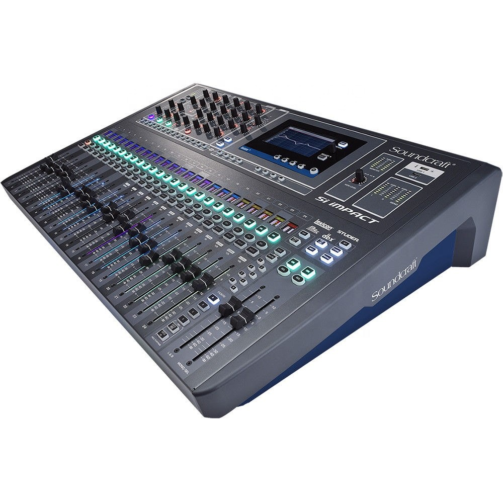 Soundcraft Si Impact 40 Input Digital Mixing Console and 32-in/32-out Interface