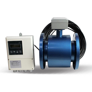 Electromagnetic flow meter manufacturer flow measuring instruments large diameter pipe