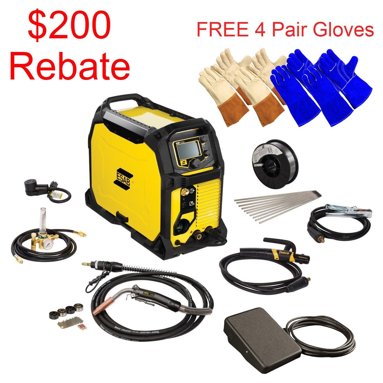 Buy ESAB Rebel EMP 215ic MIG/Stick/Tig Welding Machine