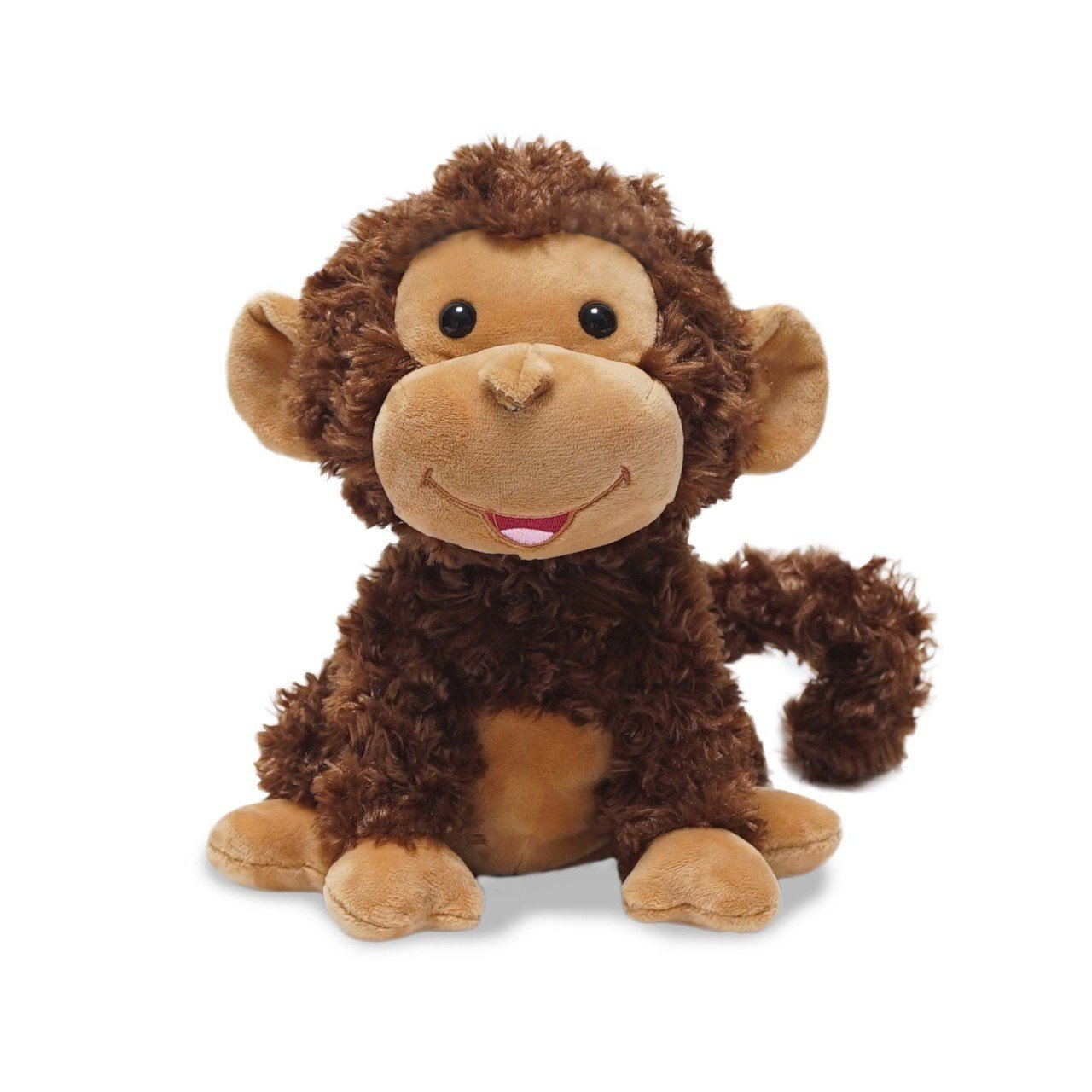 "Cuddle Barn® Crackin' Up Coco Monkey Animated Musical Plush Toy, 10"" Super Soft Cuddly Stuffed Animal will Have your Child Cracking up at its Fun Movement, Contagious Laughter and Funny Monkey Noises"