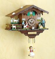 Original black forest- Heidihaus - Pendulum Cuckoo Clock with Night Switch, Cuckoo Call - Cuckoo Clock