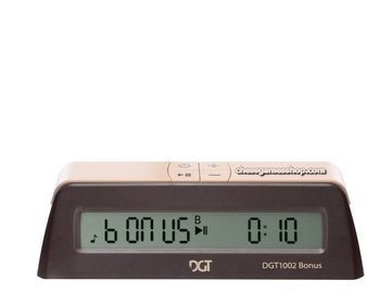 Digital chess clock - chess timer DGT 1002 bonus timer