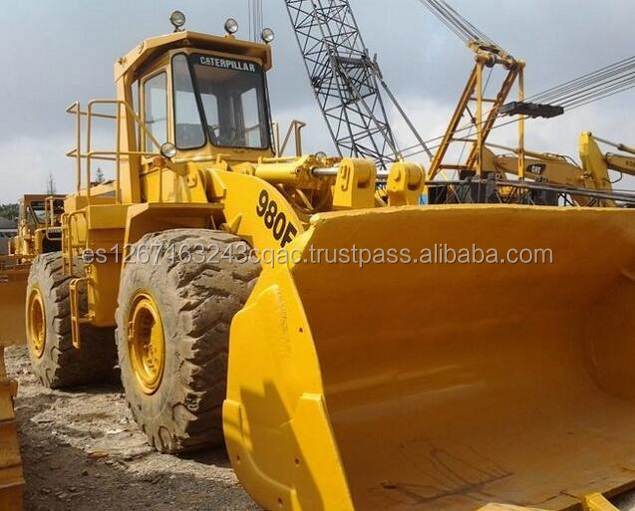 used Good quality best attractive price cat 980F wheel loader,caterpillar 980F used loader cheap for sale,used cat loader 980f