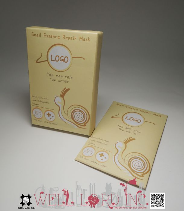 Best selling facial mask sheet packaging design halal skin care products