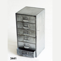 6 Drawer Galvanized File Cabinet