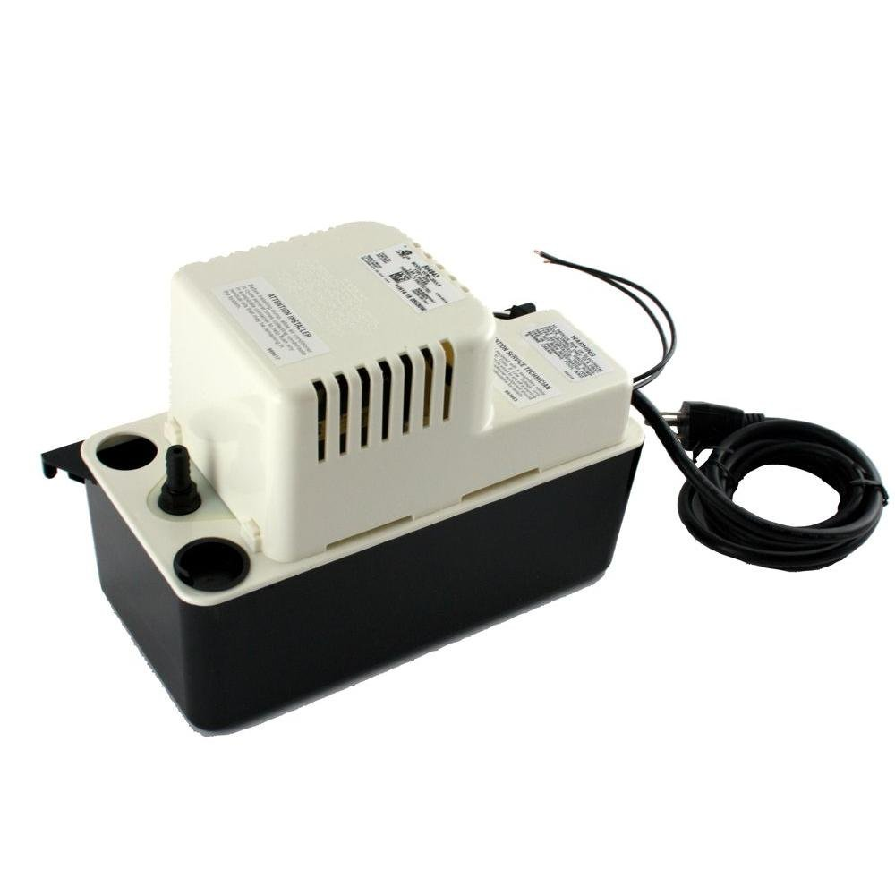 Franklin Electric 115-Volt 20 ft. Shutoff 1/30 HP GPH 25 15 ft. Condensate Pump Includes Check Valve and Safety Switch