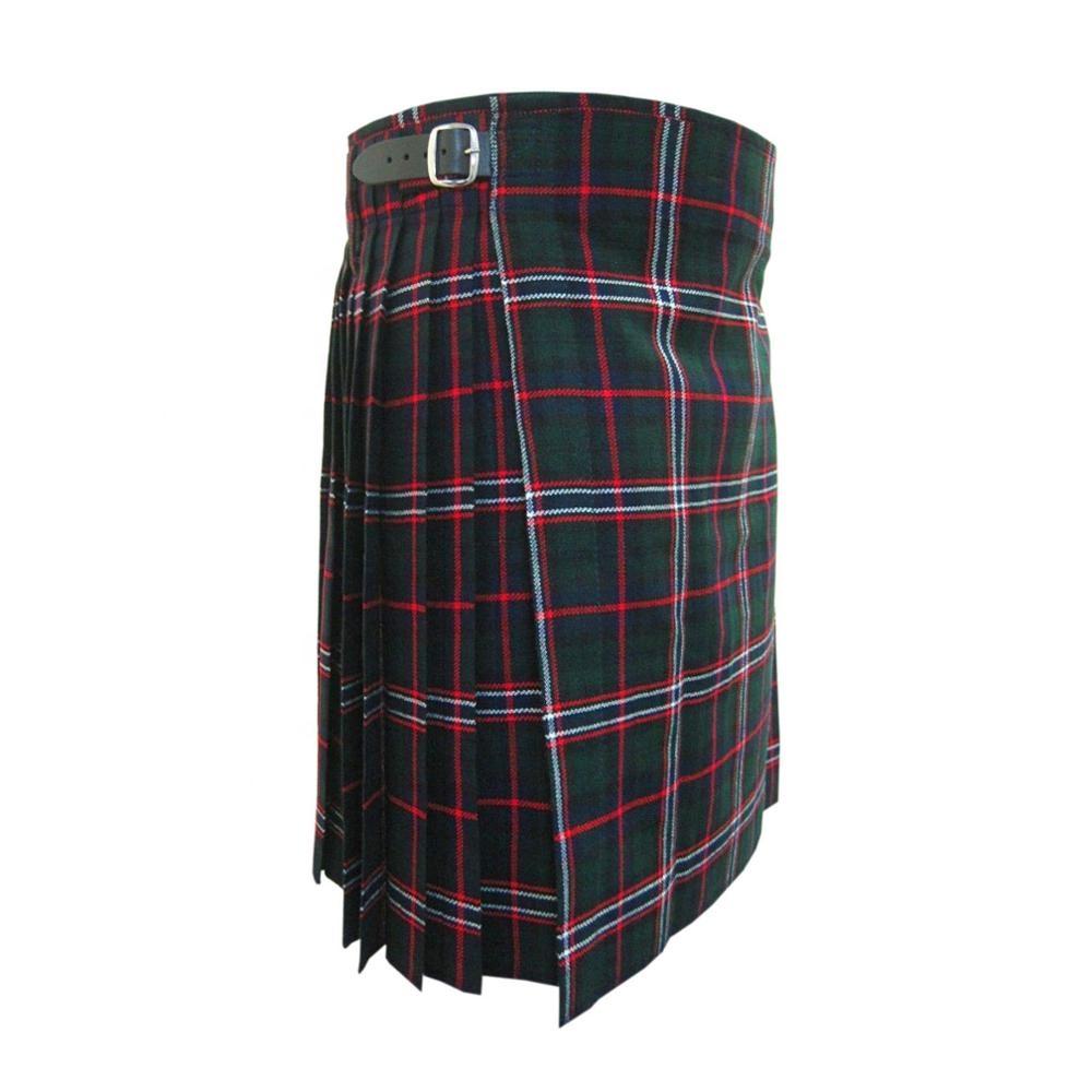 Sensible 4 Piece Kilt Package With Sporran Socks And Kilt Pin Black Watch Sizes 30-44