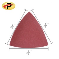 Hook and Loop Triangle Sandpaper Sanding Pads Sheets
