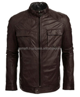 Original YKK Zippers, Genuine Sheep Leather Jaket For Men, High quality jacket