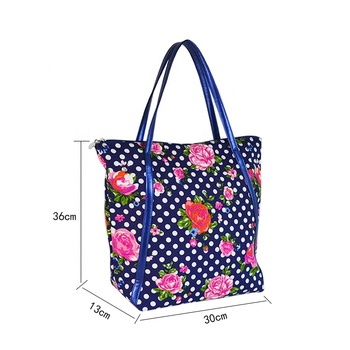 2017 Custom printing promotion cotton tote canvas tote bag