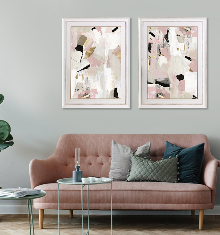 Pink Abstract Wall Frame Art Copy Right Printing Home Decoration Living  Room Wall Art - Buy Abstract Wall Art,Living Room Wall Art,Home Decoration  ...