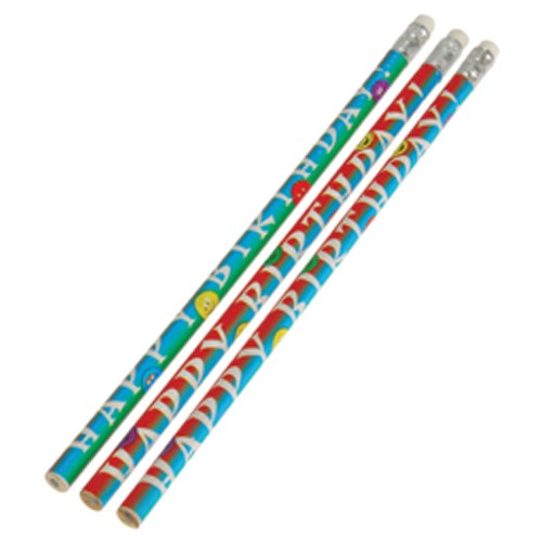SMILE BIRTHDAY PENCILS #KA189