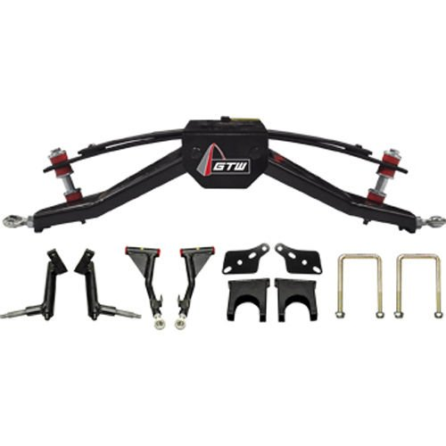 """Club Car DS 6"""" Double A-Arm Golf Cart Lift Kit (Fits 2004.5 and Up, Gas or Electric)"""
