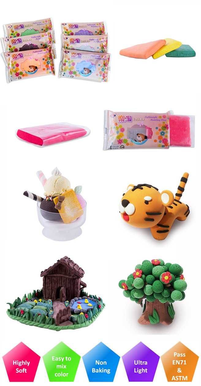 Top New Products Create Design Air Dry Slime OEM Polymer Clay