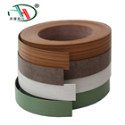 2mm Flexible Plastic Wood Grain Furniture Mdf Pvc Edge Banding Tape For Wood Tables