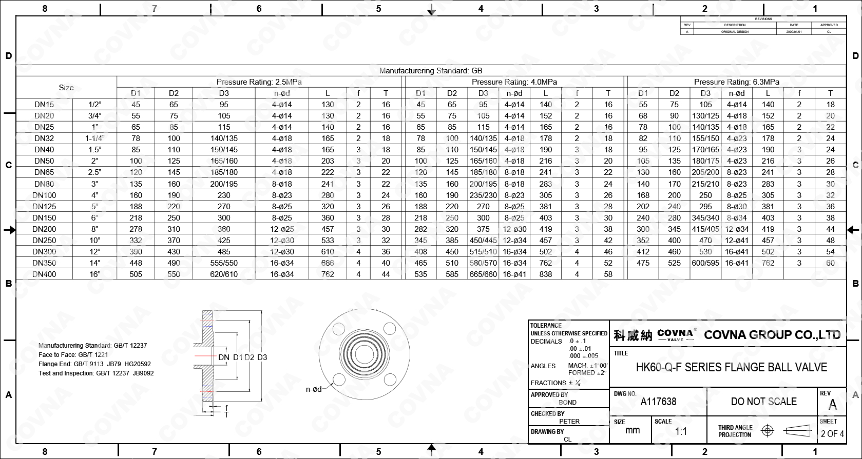 Dimension of COVNA HK60-Q-F Flange Ball Valve.jpg