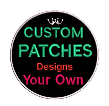 Custom embroidered patches Iron on patch
