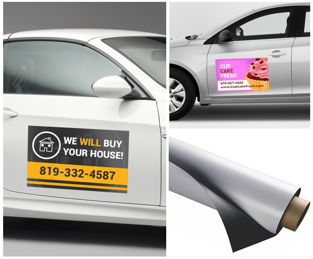 Removable Car Magnets Effective Outdoor Advertising Custom Car