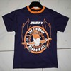 Ring Spun Eco Friendly 100% Cotton Boy's short sleeve t-shirt.