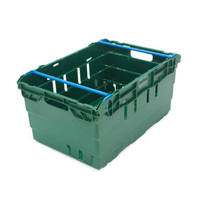 60L stackable vegetable crates plastic crate for sale