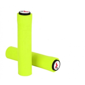 Shock absorbing elastic custom bicycle handlebar grips