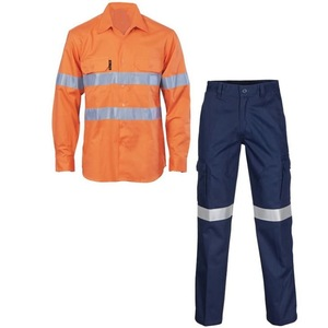 Industrial workwear factory safety working uniform mechanic working suits Pakistan Suppliers