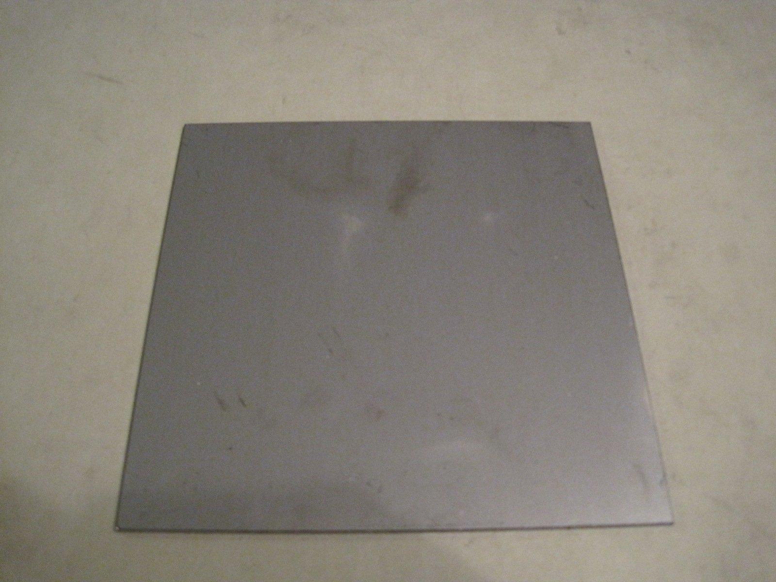 """1//4/"""" .250 LASER CUT HR Steel Sheet Plate 6/"""" x 8/"""" A36"""