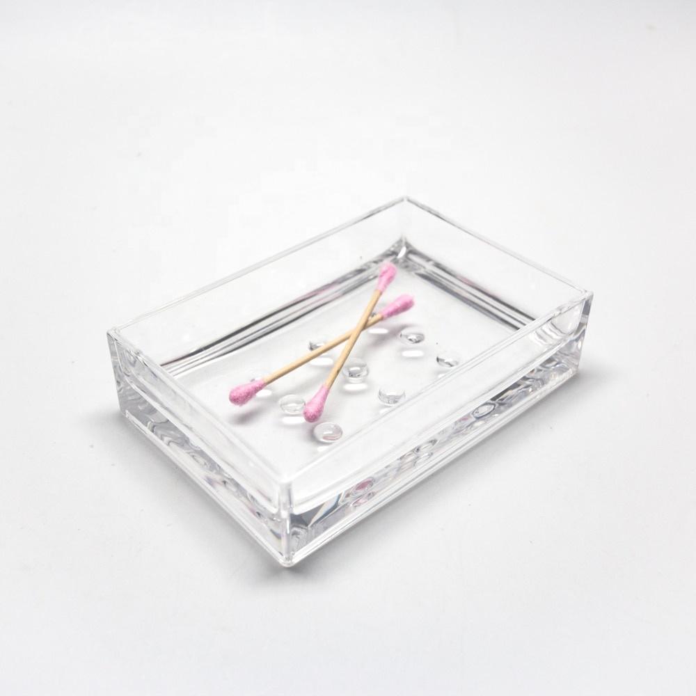 Desktop Rectangle Bathroom Accessories Soap Dish