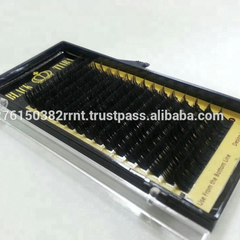 ac55a1c4856 Black Tiara Premium Mink Lash / Korean High Quality Fiber / Eyelash  Extension False Eyelashes
