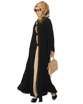 Abaya Muslim Dresses Islamic Drape Style Kaftan Muslim Dress Islamic Clothing