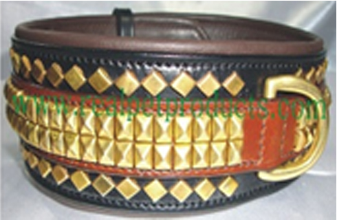 Export Quality Genuine Luxury Leather Dog Collar
