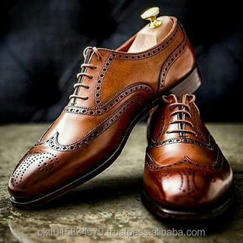 100% original fast color promotion Brown Oxford Brogue Dress Shoes,Whole Sale Hand Crafted Mens Footwear - Buy  Oxford Brogue Dress Shoes,Men Dress Shoes Genuine Leather,Man Footwear ...