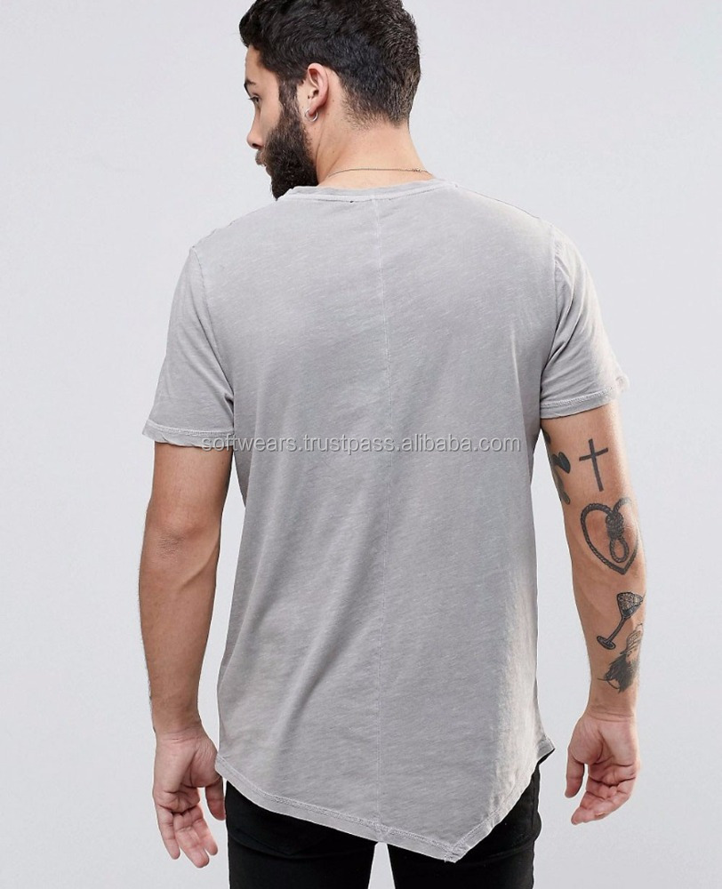 High-quality Sports T-shirt with round hem, custom made t shirt in different colours