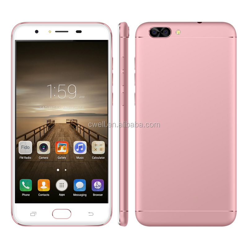 China brand name mobile phone wholesale Mobile M1 5.5 Inch Big Touch Screen smartphone Android 6.0