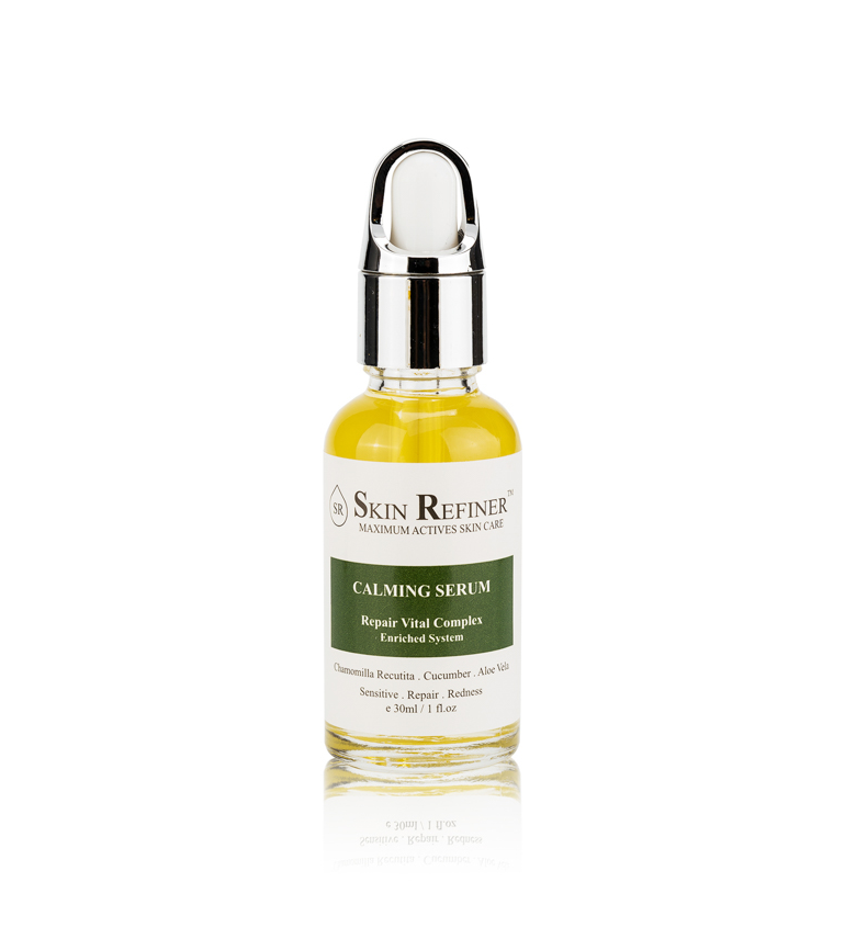 Calming Beauty Serum Natural Skin Care Product