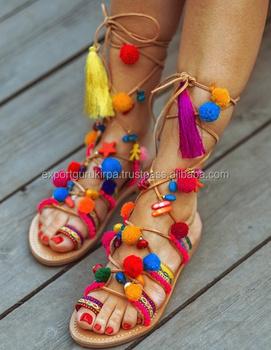 Boho Buy Geest Bohemian Sandalen Designer Banjara Tribal Dames qSpzMUV