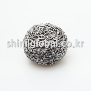Mom Clean Eco-Friendly Metal Pot Stainless Steel Scourer With Silver Color