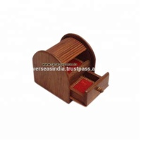 Wooden Jewellery Box its Creat Music Song by Opening the Drawer.