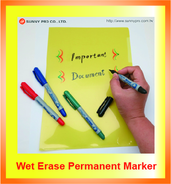 Wet Erase Permanent Marker - Sunny Pro Co., Ltd – Marker Pen