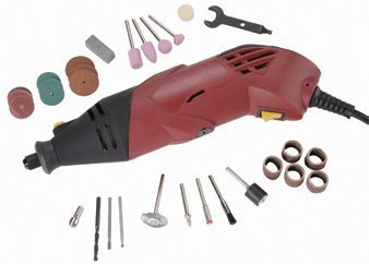 Chicago Electric Power Tools Variable Speed Rotary Tool Kit