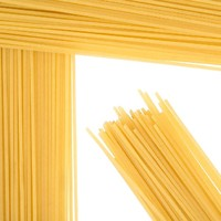 100% Durum Wheat SPAGHETTI and MACARONI (in all different shapes)